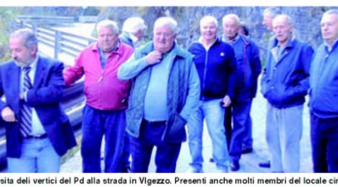 L'impegno del PD per la statale della valle Vigezzo. Lettera di Reschigna all'Anas.