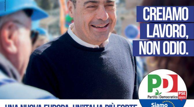 Nicola Zingaretti a Verbania domenica 12 maggio alle ore 16.00