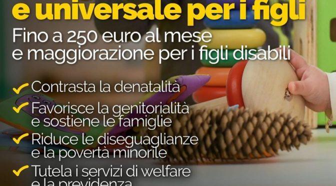 Assegno unico e universale per i figli. Uno strumento importante per sostenere le famiglie anche nel VCO